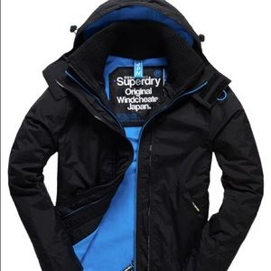 SuperDry Coat with hood
